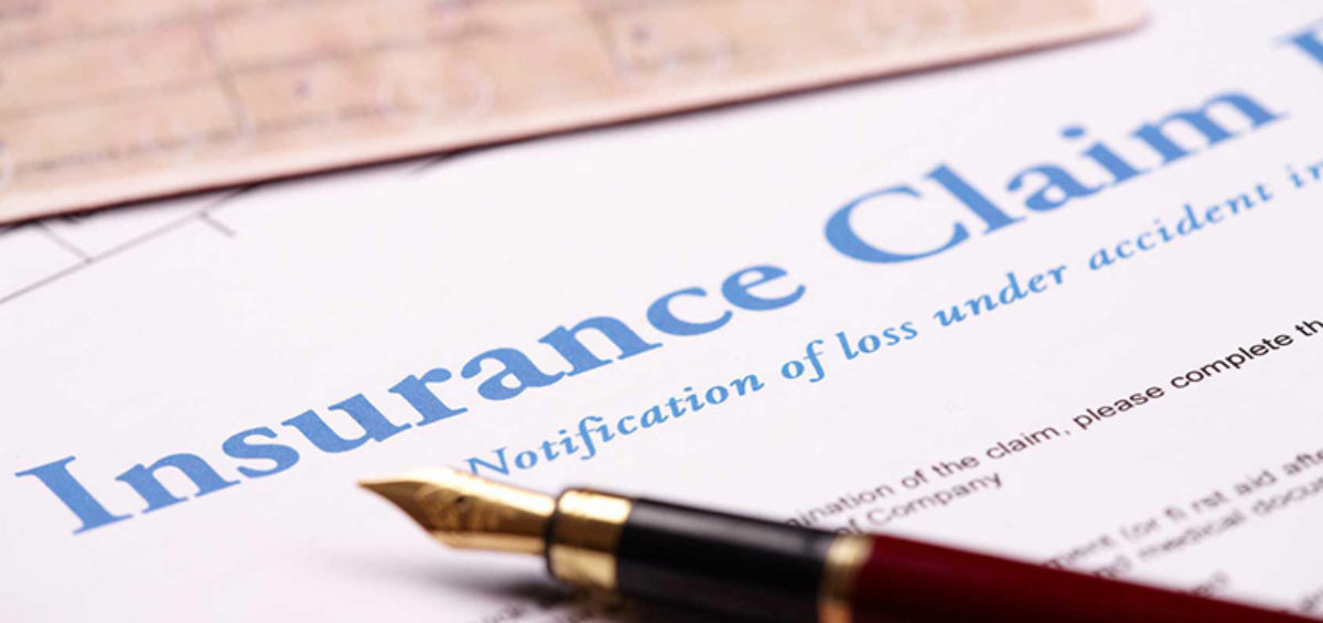 an insurance claim process
